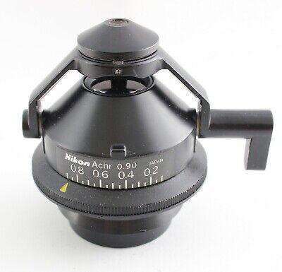 Nikon Microscope Flip Top Swing Condenser With Polarizer Pol Polarizing Filter