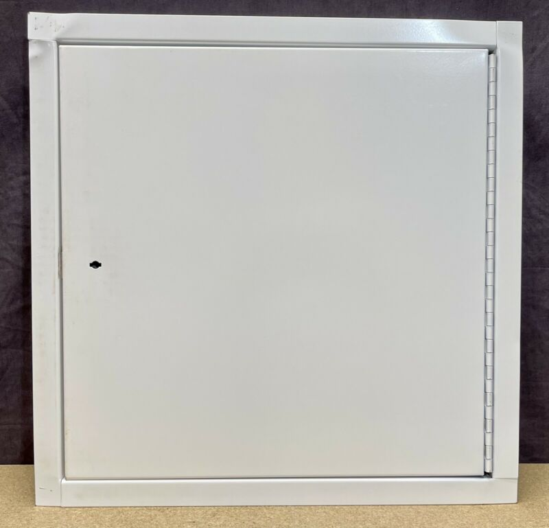 Activar 16X16 In Fire Rated Access Panel Wall Insulated Galvanized Steel White