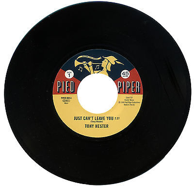 "TONY HESTOR  ""JUST CAN'T LEAVE YOU""    NORTHERN SOUL CLASSIC     LISTEN!"