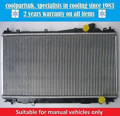 BRAND NEW RADIATOR HONDA CIVIC MK7 2001 TO 2005 141617 PETROL MANUAL CARS