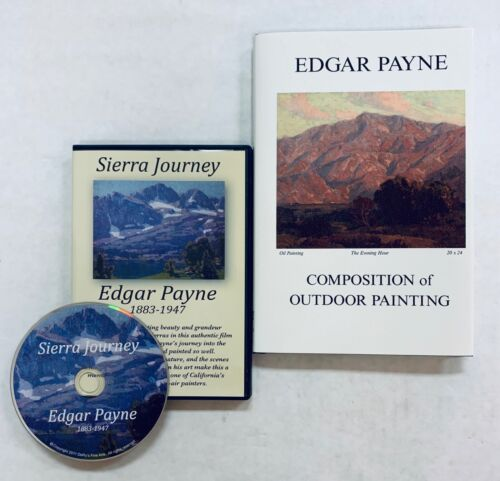 Composition of Outdoor Painting Edgar Payne Book & Free DVD Sierra Journey NEW