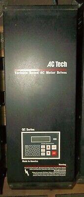 Ac Tech Variable Speed Ac Motor Drive 25 Hp Qc Series Q34025b Vfd Vsd 6