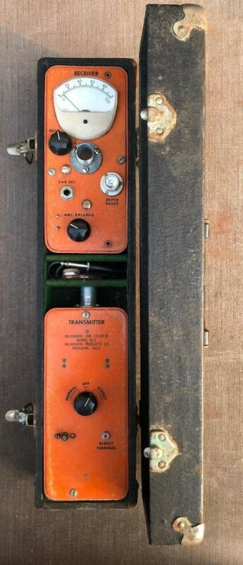 VINTAGE WILKINSON LINE LOCATOR MODEL W-3 Receiver And Transmitter.