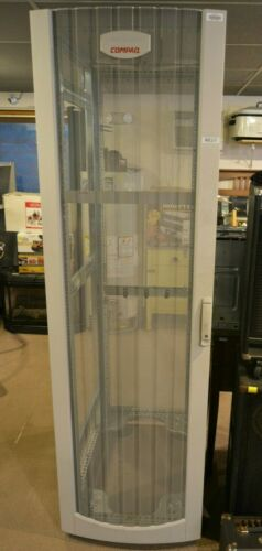 Large Compaq 42U Server Rack Cabinet Front Rear Door