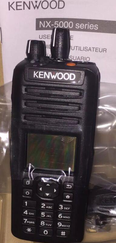 KENWOOD NX-5200K3 6 WATT VHF RADIO 136 Mhz-174 Mhz NXDN /ANALOG Handheld Radio