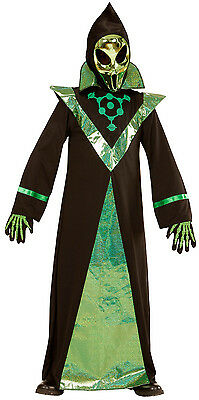 Alien Kinderkostüm mit Maske NEU - Jungen Karneval Fasching Verkleidung Kostüm ()