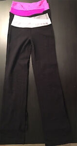 Lululemon Astro Pants (two pairs) Size 2