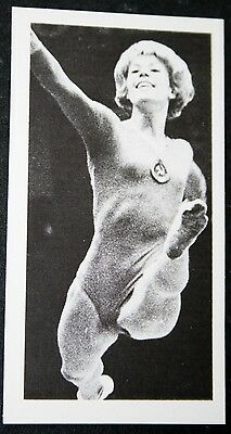USSR  Gymnast  Larissa Latynina    Action Photo Card  VGC