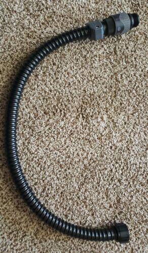 Blue Bowl Concentrator quick connect hose tube upgrade 2ft - johnson pump port