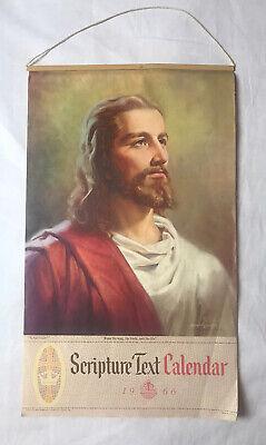 Scripture Text 1966 Calendar