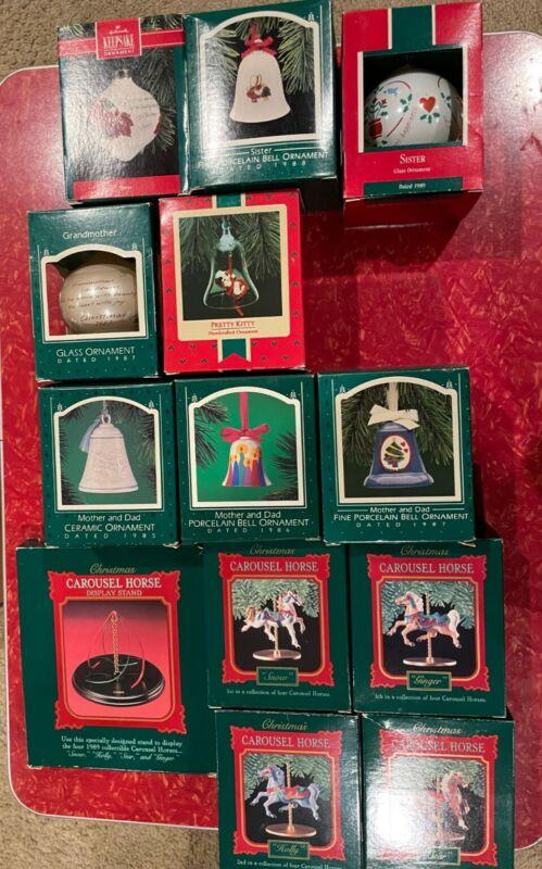 Lot #14 of Hallmark Keepsake Ornaments