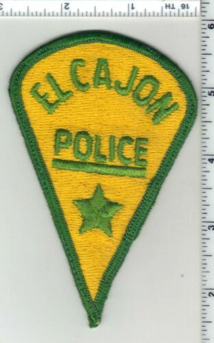 El Cajon Police (California) 1st Issue Shoulder Patch - RARE