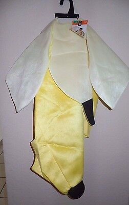 boys girls SMALL/MEDIUM NEW NWT YELLOW BANANA HALLOWEEN COSTUME SUIT PEELS 30.00