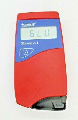 Hemocue Glucose 201 Glucose Analyzer Meter -great Condition Free Shipping