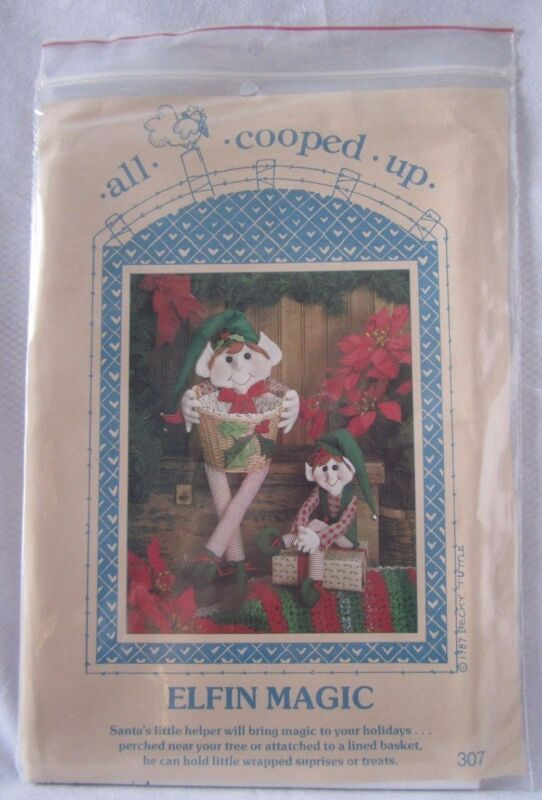 All Cooped Up Pattern Elfin Magic #307 Sewing Pattern NEW