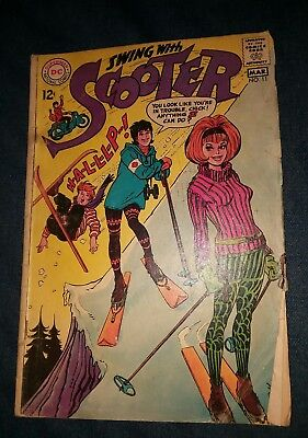 SWING WITH SCOOTER #11 VG dc comics silver age lot run set movie collection gga