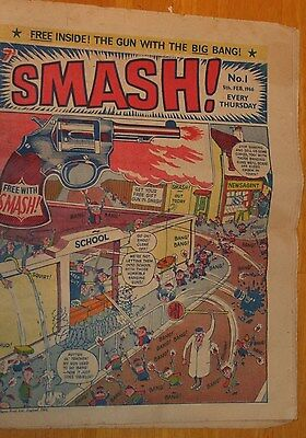 SMASH #1 Dated 5th February 1966 Good First 1st Issue uk comic