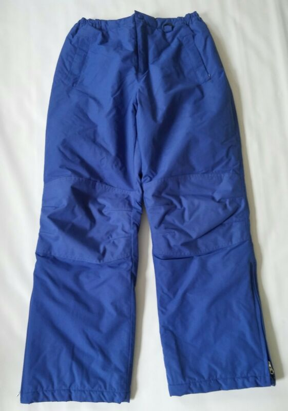 Lands End Youth Blue Snow Pants Insulated Size 16- Lot O98