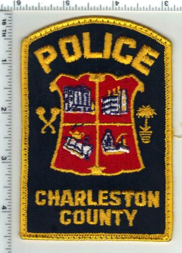 Charleston County Police (South Carolina) 4th Issue Uniform Take-off Patch
