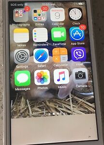 iPhone 5s 16GB Silver Liverpool Liverpool Area Preview