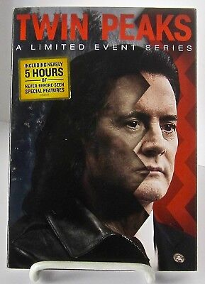 Twin Peaks  A Limited Event Series Dvd Complete Season 3 New Factory Sealed