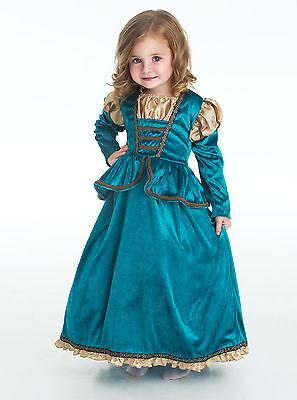 Scottish Brave Princess Halloween Costume Dressup Sizes Sm-XL Little Adventures