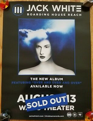 JACK WHITE: Boarding House Reach SOLD OUT SEATTLE - RARE!! PROMO ONLY
