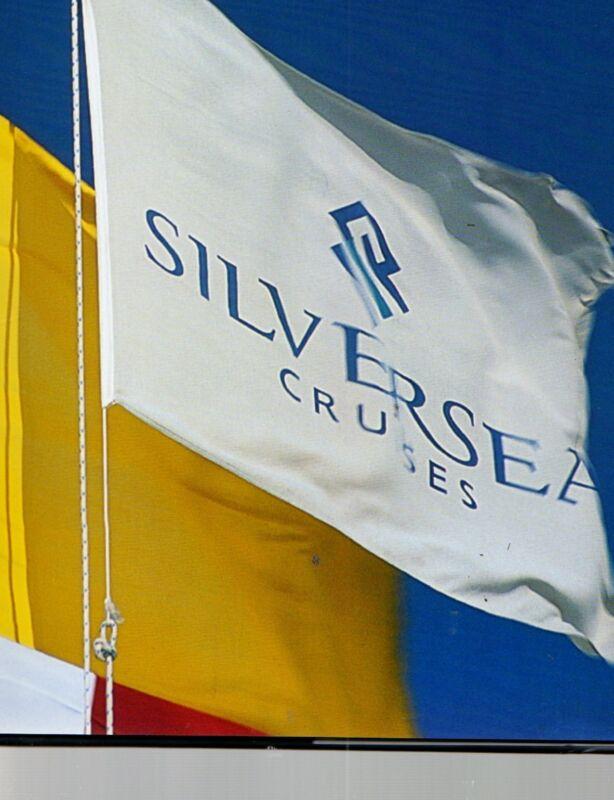 SilverSea Cruises Silver Cloud Whisper Design Construction Anniversary Foto Book