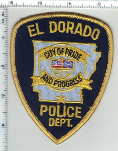 El Dorado Police (Arkansas) 3rd Issue Shoulder Patch