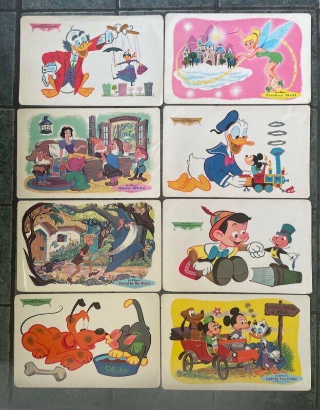 Vintage Walt Disney Placemats