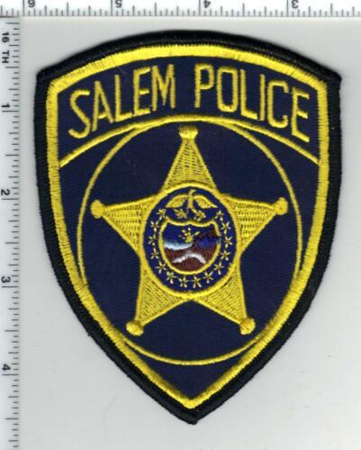 Salem Police (Oregon) 3rd Issue Shoulder Patch