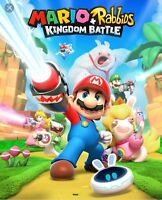 Mario and Rabbids Switch game used couple of times only