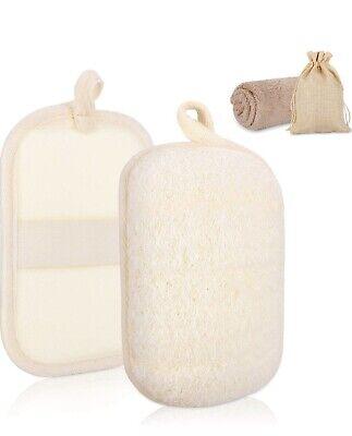Loofah  Bath Shower Body Sponge Scrubber Exfoliator Washing Pad -