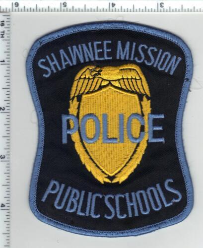 Shawnee Mission Public Schools Police (Kansas) uniform take-off patch  1980