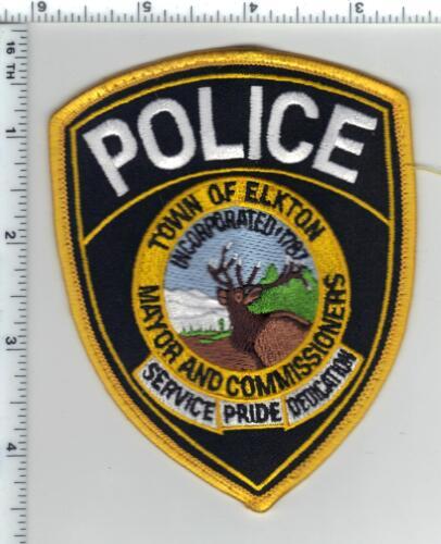 Town of Elkton Police (Maryland) Uniform Take-Off Shoulder Patch