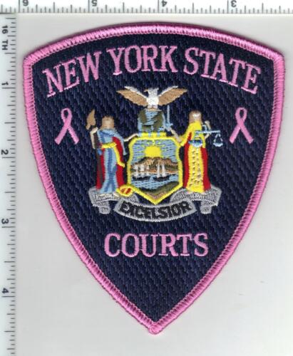 Breast Cancer Awarness New York State Courts Patch (may be worn in October)