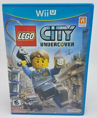 LEGO City Undercover (Nintendo Wii U, 2013) Complete & Tested FREE US SHIP