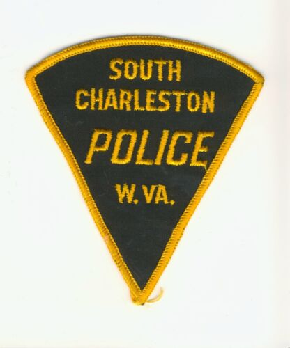 """South Charleston West Virginia WV 4.25"""" Police Law Enforcement Patch"""