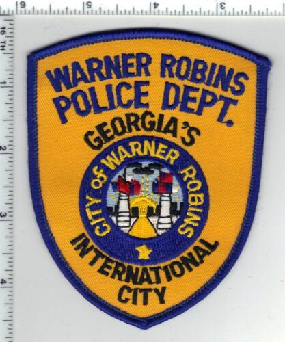 Warner Robins Police (Georgia) 3rd Issue Shoulder Patch