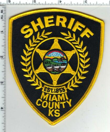 Miami County Sheriff (Kansas) Shoulder Patch - new style from the 1980