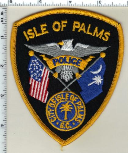 Isle of Palms Police (South Carolina) Shoulder Patch from the 1990