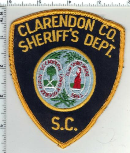 Clarendon County Sheriff (South Carolina) 2nd Issue Shoulder Patch