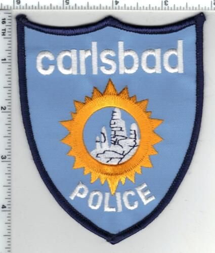 Carlsbad Police (New Mexico) 2nd Issue Shoulder Patch
