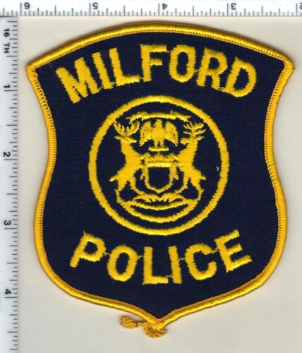 Milford Police (Michigan) Uniform Take-Off  Patch from 1991