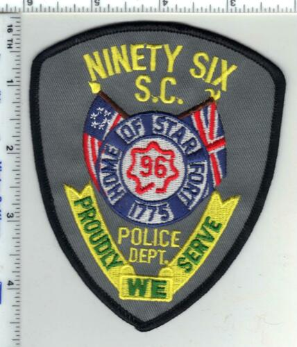 Ninety Six Police (South Carolina) 2nd Issue Shoulder Patch