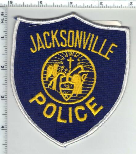 Jacksonville Police (Arkansas) 2nd Issue Shoulder Patch with J.J. Martin label