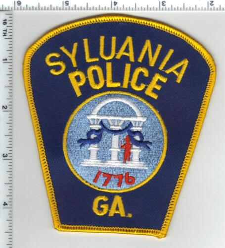 Syluania Police (Georgia) Shoulder Patch - new from 1980
