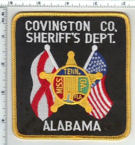 Covington County Sheriff (Alabama) 3rd Issue Shoulder Patch