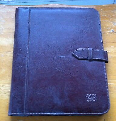 Beautiful Leather Day Planner - Free Shipping