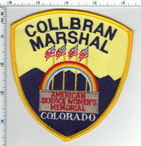 Collbran Marshal (Colorado) Shoulder Patch from the 1980s